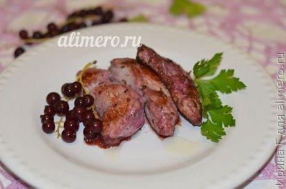 Куриное филе в смородиновом маринаде – кулинарный рецепт