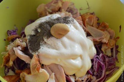 Салат из киноа с копченой уткой, пошаговый рецепт с фото
