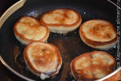 Оладьи со сливой - рецепт пошаговый с фото