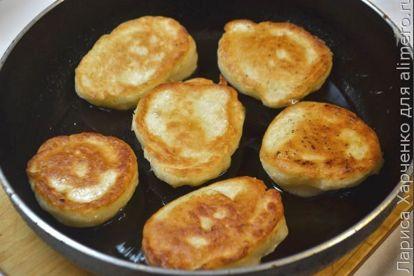 Оладушки без масла и яиц - рецепт пошаговый с фото