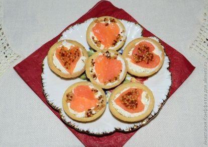 Тарталетки со слабосоленой форелью - рецепт пошаговый с фото