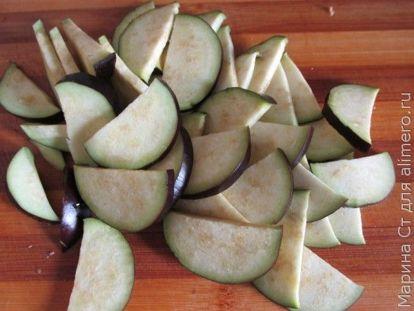 Острые баклажаны в соевом соусе на сковороде - рецепт пошаговый с фото