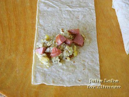 Пирожки из лаваша с начинкой на сковороде - рецепт пошаговый с фото