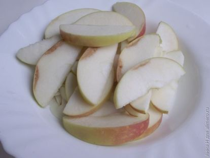 Рыба с яблоками