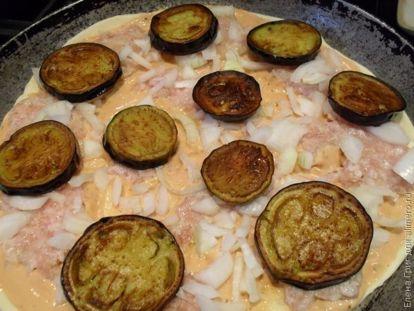Пицца с баклажанами - рецепт пошаговый с фото