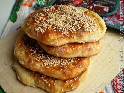 Дрожжевые картофельные лепешки - рецепт пошаговый с фото