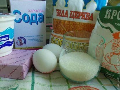 Печенье Орешки с ванильным кремом - рецепт пошаговый с фото