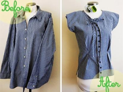 Что можно сшить из мужской рубашки своими руками?