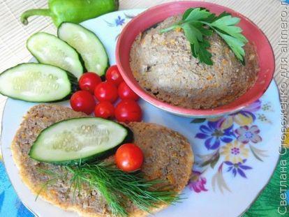 Домашний паштет из куриной печени с салом - рецепт пошаговый с фото