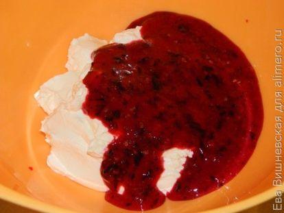 Творожный кекс с черной смородиной - рецепт пошаговый с фото