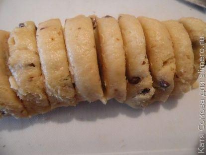 Песочное печенье с шоколадом в духовке - рецепт пошаговый с фото