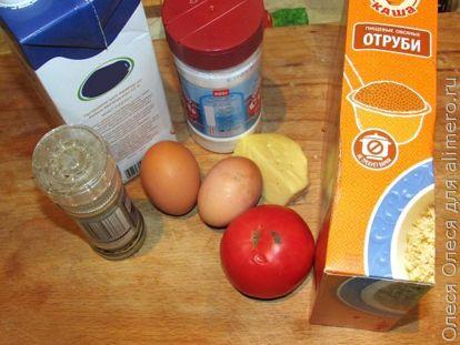 Овсяный блин с сыром - рецепт пошаговый с фото