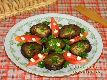 маринов фаршир баклажаны и овощные голубцы по корейски рецепт