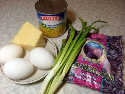 Салат с кукурузой рецепт с фото