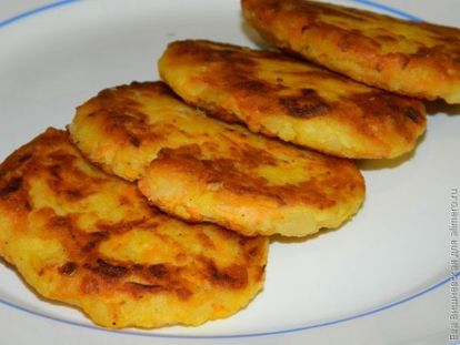 драники картофельные из вареной картошки рецепт