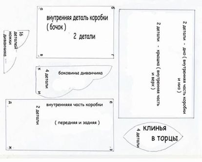 Шкатулки из открыток схемы собирания