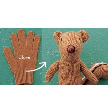Игрушки рукавички своими руками 88