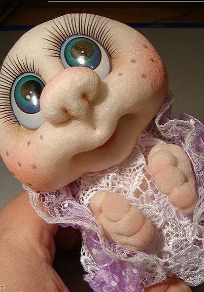 Куклы из капроновых колготок для начинающих