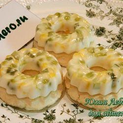 холодные закуски с икрой рецепты с фото #8