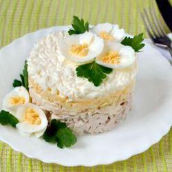 Рецепты салатов простые и вкусные и красивые пошагово