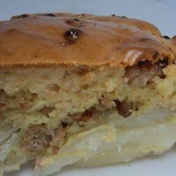 Пресные пироги рецепт