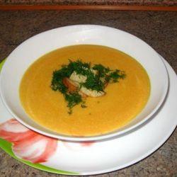 Суп из тыквы с пармезаном