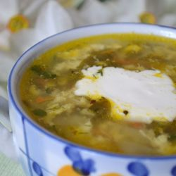 костромские зеленые щи на заготовки рецепты