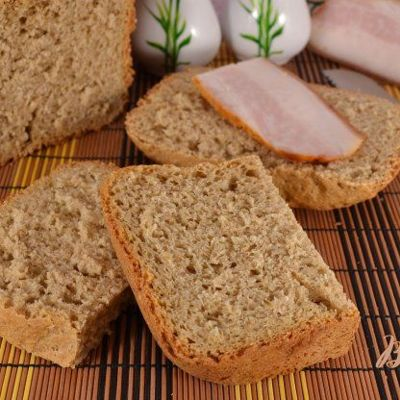 Отрубной хлеб в хлебопечке рецепт на 500 гр