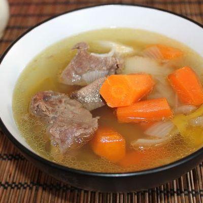 Говяжий суп легкий