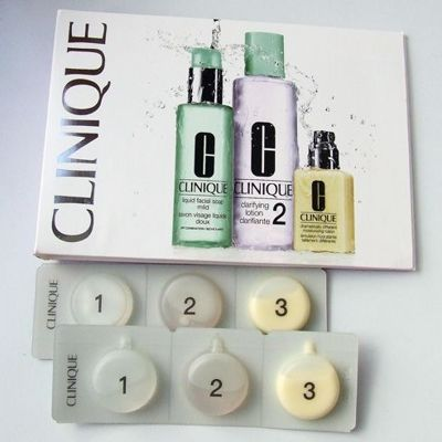 Clinique 3-Step Skin Care System: Личный опыт