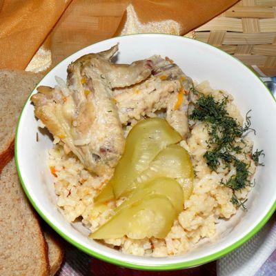 Рецепты рисовой каши с тыквой на воде