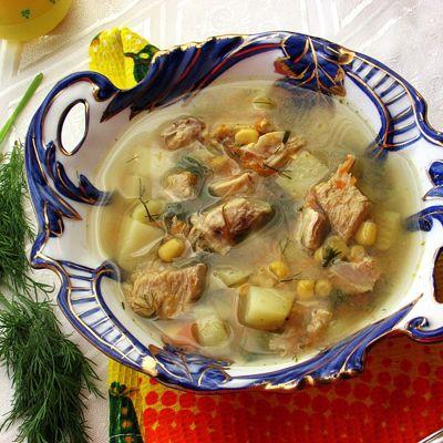 Смотреть Легкий суп из молодой кукурузы и овощей: простой рецепт видео