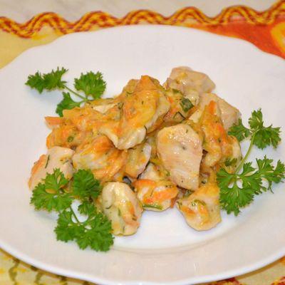 Салат миланский с курицей