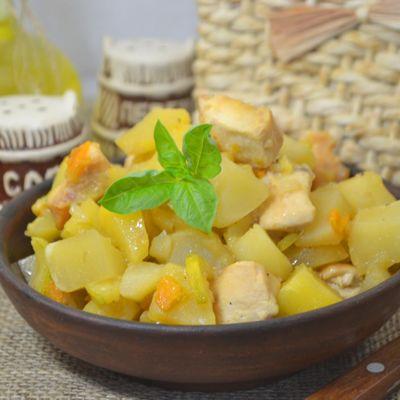 Что приготовить из фарша и кабачков и картошки