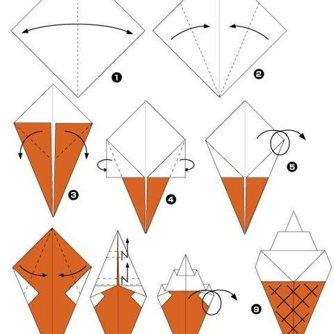 Оригами простое с видео