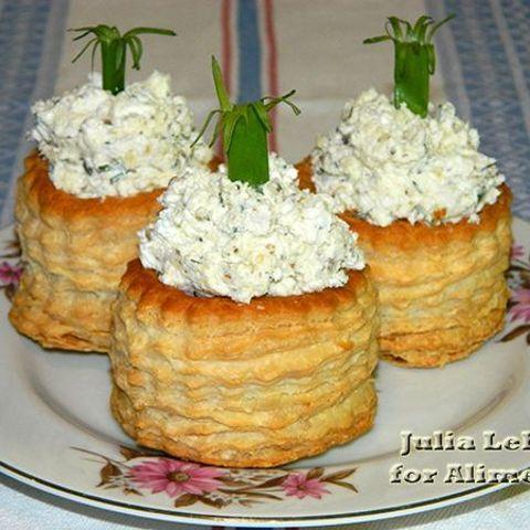 закуска из печени трески в тарталетках рецепты