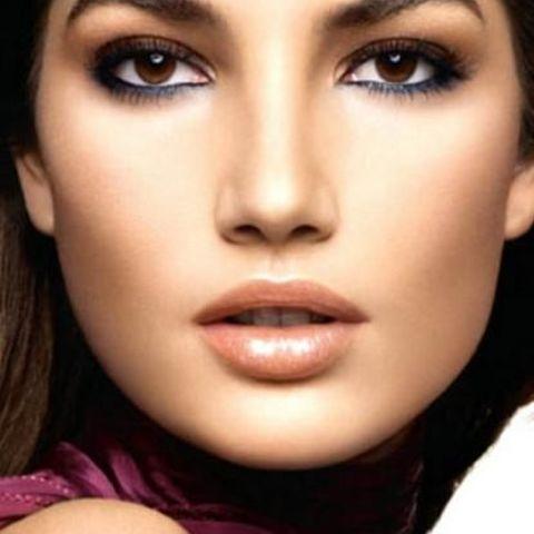 Карие глаза макияж мастер класс