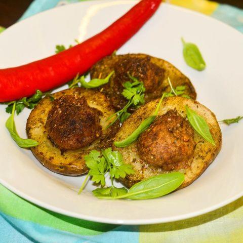 рецепт картофель с яйцом в духовке рецепт с фото