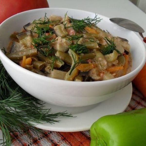 Пароваркаы из овощей