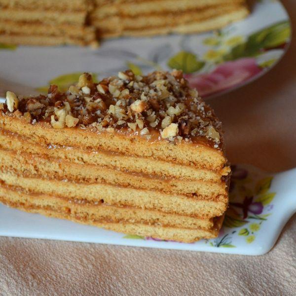Медовый торт со сгущенкой рецепт с фото вообще-то