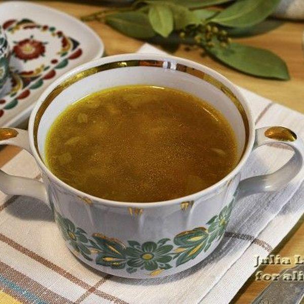 Как варить курины суп