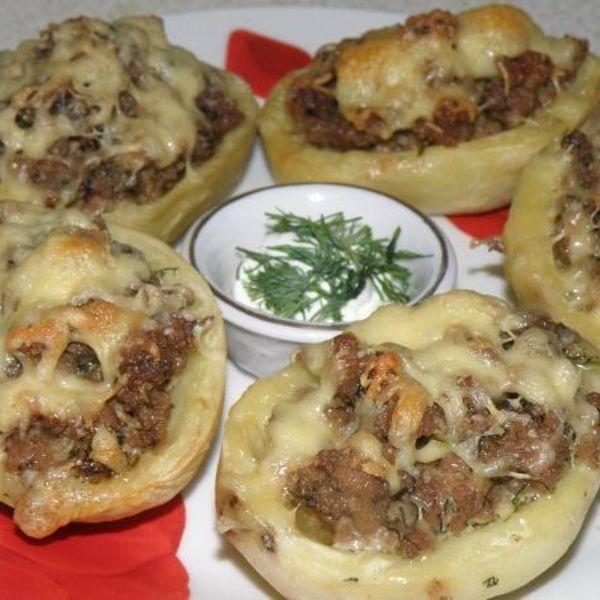 Что приготовить из фарша грибов и картошки