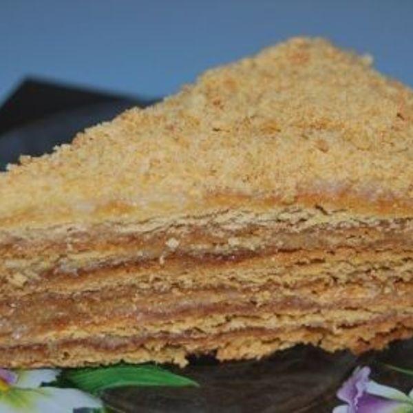 Торт медовик с манным кремом