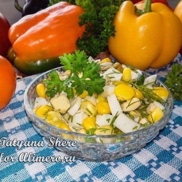 Салаты с креветками и ананасами рекомендации
