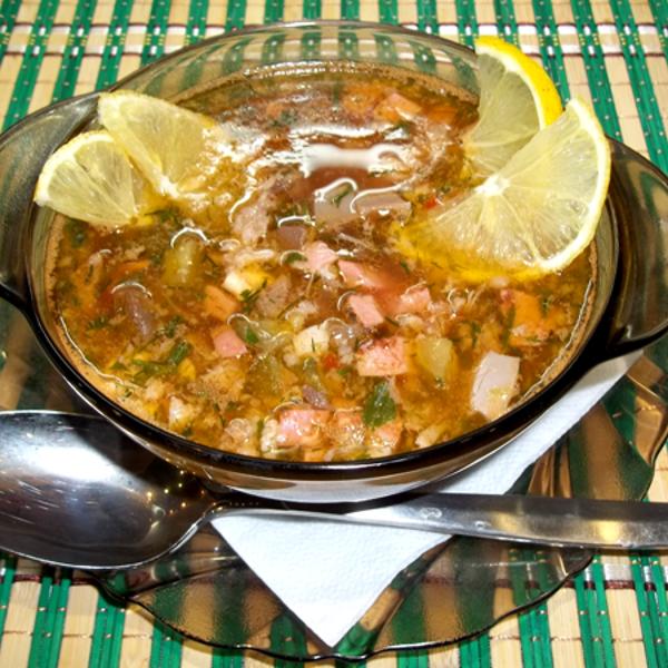 Солянка мясная классическая пошаговый рецепт с в домашних условиях