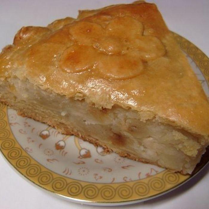 Пирог с картошкой и майонезом в духовке рецепт