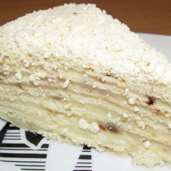 Торты из коржей без выпечки
