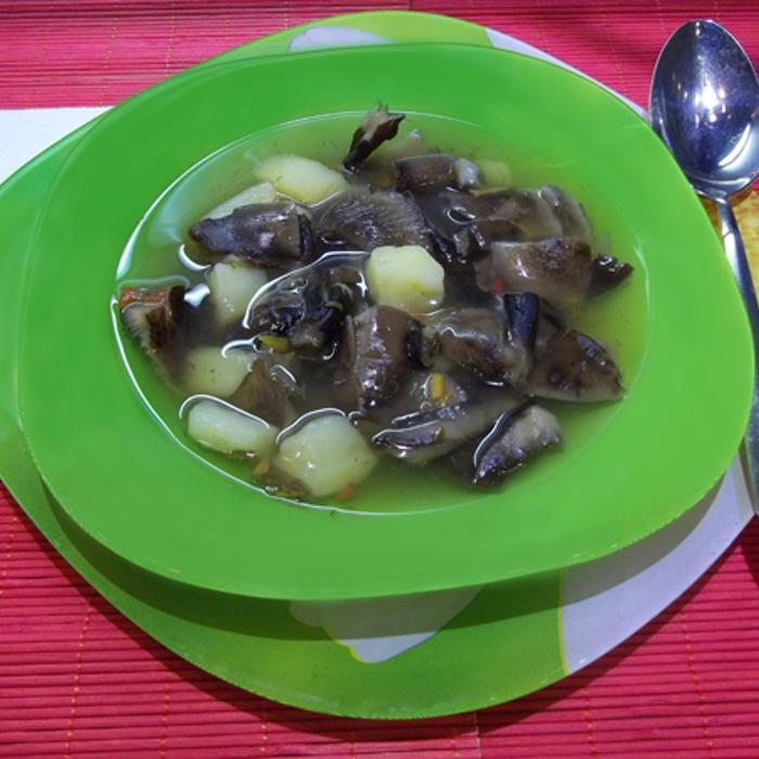 Суп грибной из замороженных шампиньонов рецепт с пошагово 183