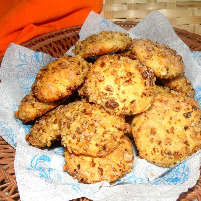 Печенье на майонезе простой