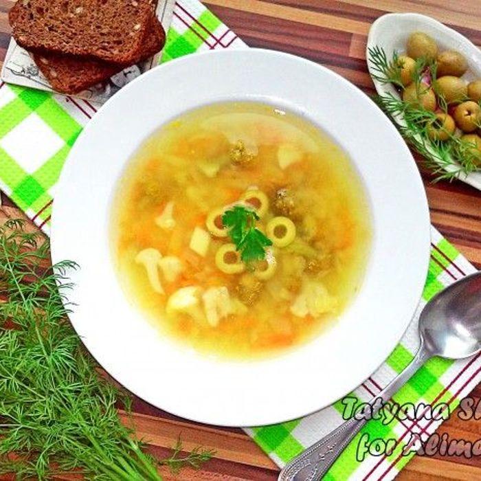 томатный суп с оливками рецепты
